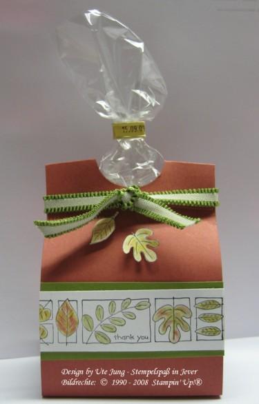 Schokoladennüsse schön und schnell verpackt 1
