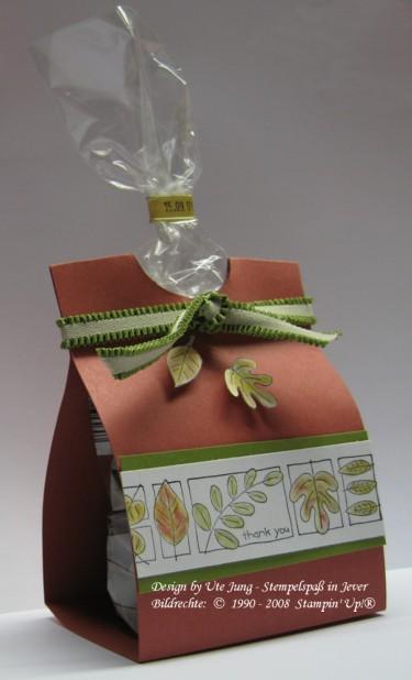 Schokonüsse schön und schnell verpackt