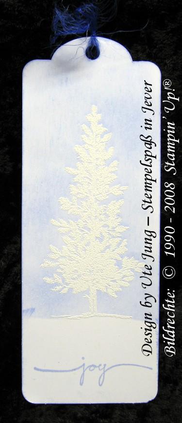 Lesezeichen Winterlandschaft 2
