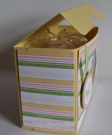 Verpackung für meine Gastgeberin kl 2