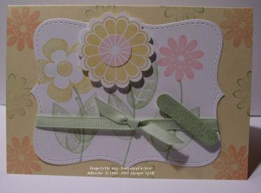Blumenkarte kl