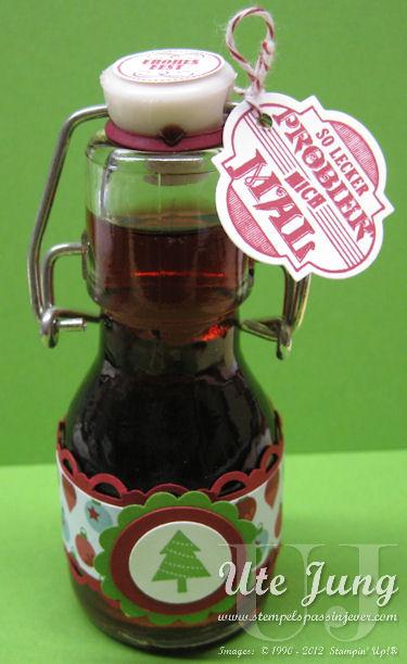 Kleine Likörflasche