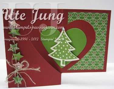 Weihnachtskarte Herz