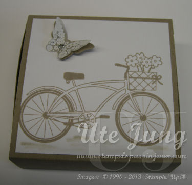 Geldgeschenk Fahrrad