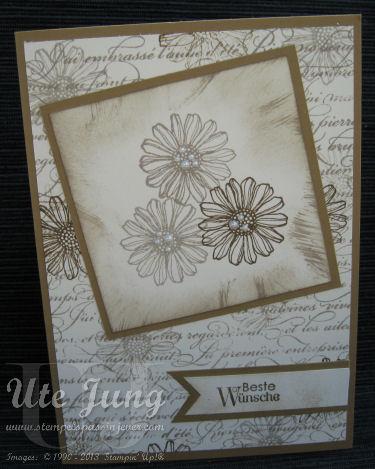 Best flowers Karte