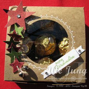 Geschenkbox zu Weihnachten
