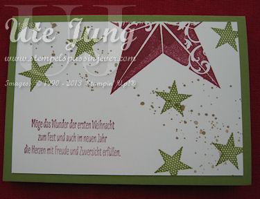 3. Weihnachtskarte im Handumdrehen