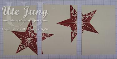 Weihnachtskarten mit Christmas Star