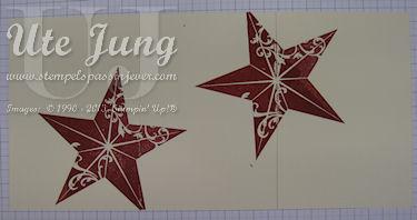 """Weihnachtskarte mit """"Christmas Star"""""""