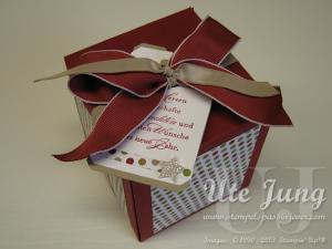 Envelope Punch Board<br>Große Geschenkebox zu Weihnachten