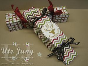 Bonbonverpackung mit dem Envelope Punch Board