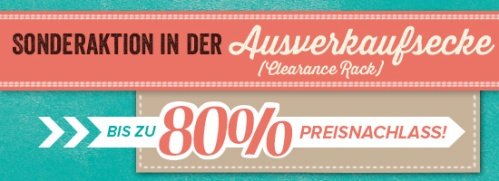 Clearance Rack - Das Stampin' Up! Ausverkaufsregal