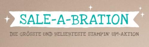 Sale-A-Bration - die größte und bliebteste Stampin' Up! Aktion