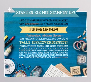 Sale-A-Bration Starterpaket