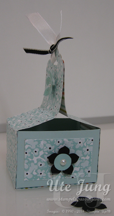 """Sale-A-Bration 2014: Verpackung mit Designerpapier """"Süße Sorbets"""""""