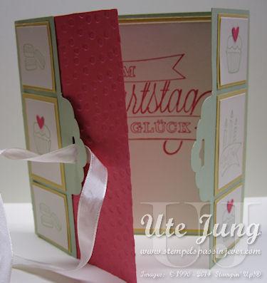 """Geburtstagskarte mit dem Stempelset """"Dein Tag"""""""