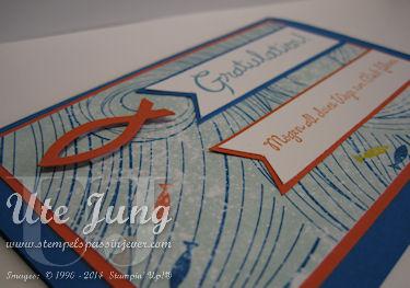 "Konfirmationskarte mit dem Stempelset ""Glück-s-wunsch"