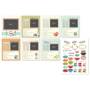 129004 Made from Scratch Recipes Designer Template - Digital Download. Statt 15,95 € nur 9,57 €