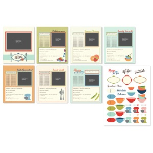 129004 Made from Scratch Recipes Designer Template - Digital Download. Statt 15,95 € nur 9,57 €