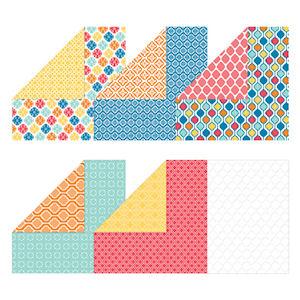 130141 Besonderes Designerpapier Farbenspiel