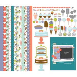 Sweet Shop Kit (digitaler Download). Statt 8,95 € nur 5,37 €