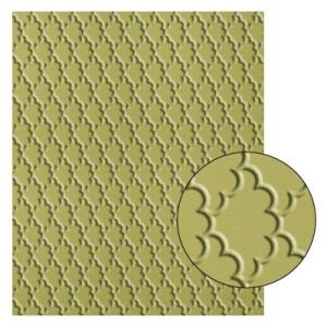 127751 Textured Impressions Prägeform Fächerfantasie. Statt 9,50 € nur 7,13 €