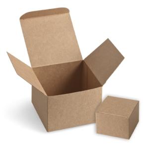124106 Sandfarbene Geschenkboxen. Statt 3,50 € jetzt 2,63 €