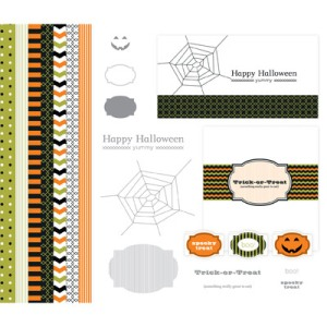 127588 Spooky Treats Designer Template - Digital Download. Statt 10,95 € jetzt 6,57 €