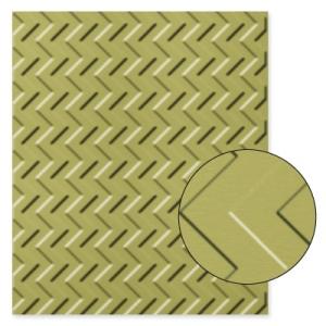 127749 Textured Impressions Prägeform Zickzackmuster. Statt 9,50 € jetzt 7,13 €