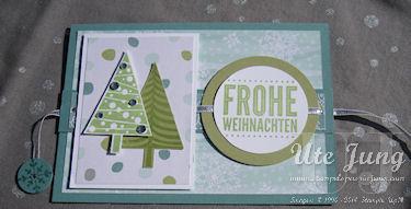 """""""Frohe Weihnachten"""" aus dem Stempelset """"Für Dich"""""""