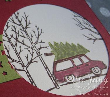 """Auto aus dem Stempelset """"Weiße Weihnacht"""""""