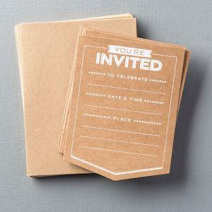 133008 Einladungsset Party-Elemente. Statt 5,95 € jetzt 4,46 €
