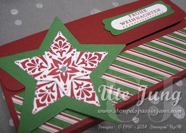 """Schokoladenverpackung mit """"Zauber der Weihnacht"""""""