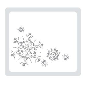 """120902 Textured Impressions Prägeform """"Eiskristall"""""""
