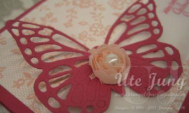 Rose aus dem Kreativ-Set Accessoires in Altrosa