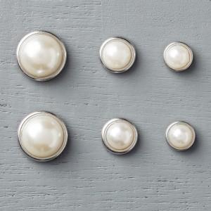 138394 Perlen mit Metallrand. Statt 6,25 € jetzt 4,69 €
