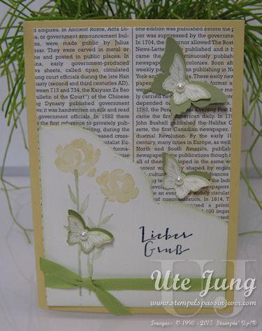 """Blumen aus dem Stempelset """"Painted Petals"""""""