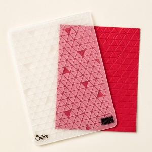 133740 Textured Impressions Prägeform Mini-Dreiecke. Statt 9,50 € jetzt 7,13 €