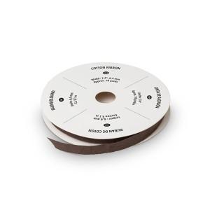 "134560 1/4"" (6,4 mm) Baumwollband Espresso. Statt 6,95 € jetzt 5,21 €"