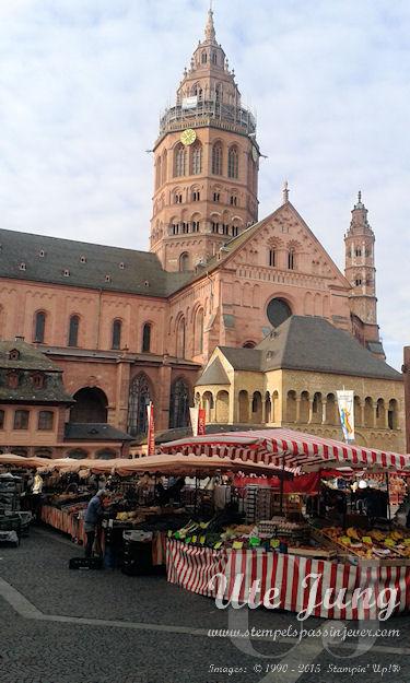 Morgens in Mainz