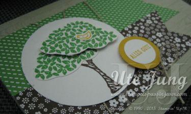 Designerpapierblock zur jeweiligen Farbfamilie mit neuen Mustern