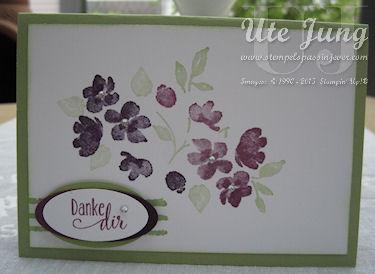 Painted Petals heißt dieses vielseitig einsetzbare Stempelset