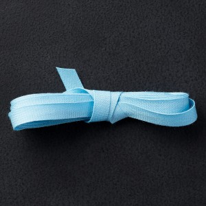 "134561 1/4"" (6 mm) Baumwollband in Ozeanblau. Statt 7,50 € jetzt 5,63 €"