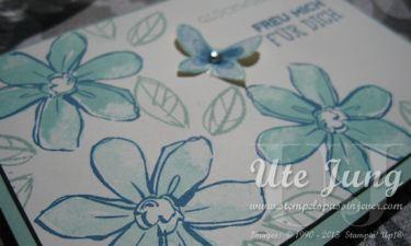 """Glückwunschkarte mit dem Stempelset """"Garden in Bloom"""""""