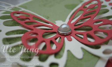 "Geburtstagskarte mit Stampin' Up! ""Garden in Bloom"""""
