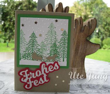 """Weihnachtskarte """"Schöne Feiertage"""""""