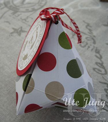 Seitenansicht Weihnachtsbaumanhänger