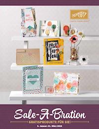 Sale-A-Bration 2016 Teil 1