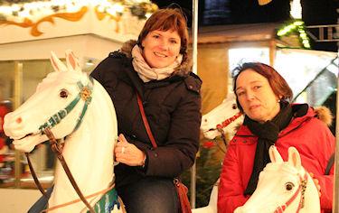Stammtisch mit Weihnachtsmarktbesuch