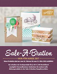 Sale-A-Bration 2016 Erhältlich bis: 31.03.2016